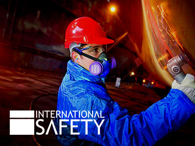 Featured international safety tile